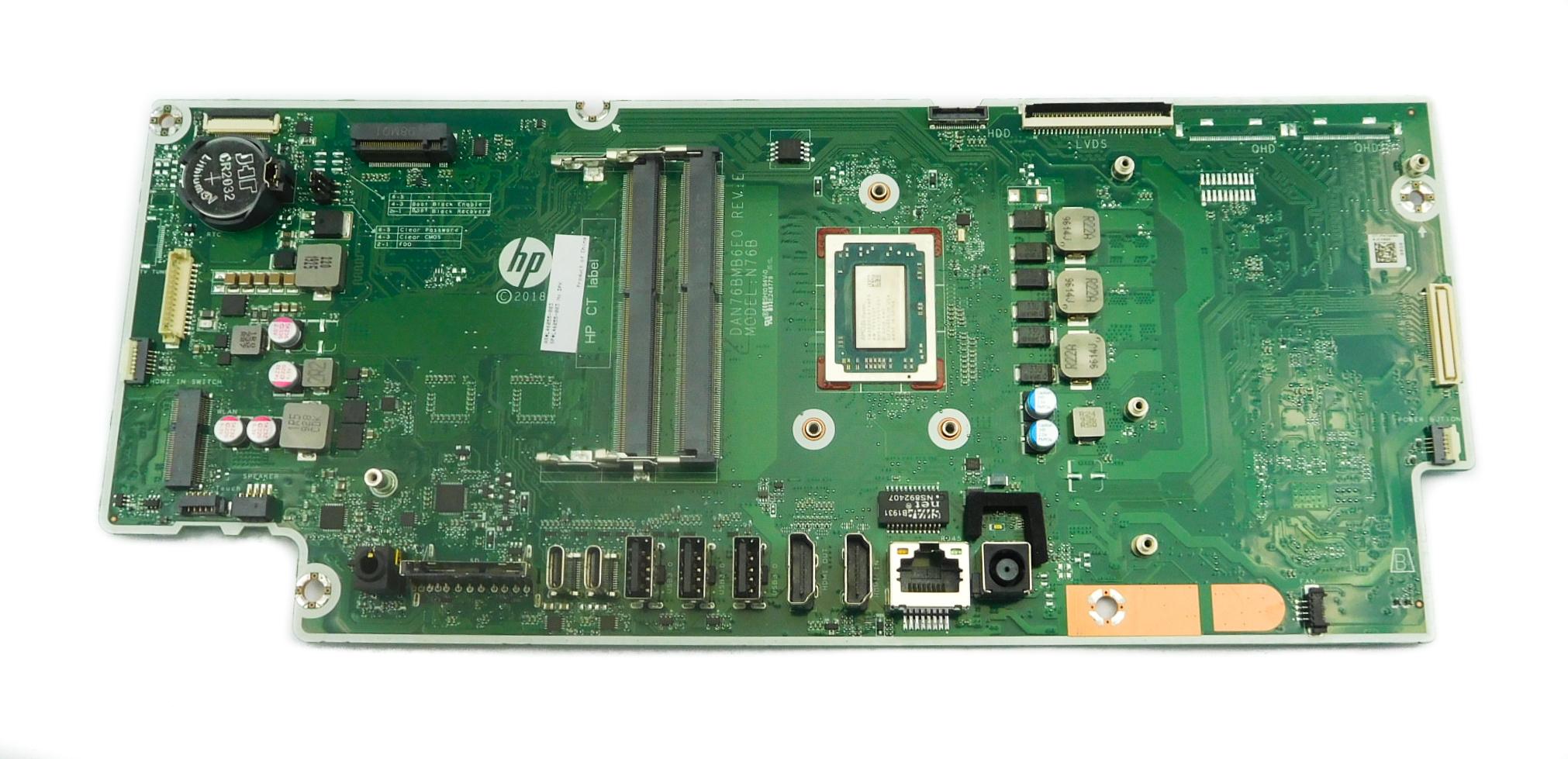 HP L46055-003 Pavilion 24-xaxxx AiO PC Motherboard /w BGA Ryzen 5 3550H CPU